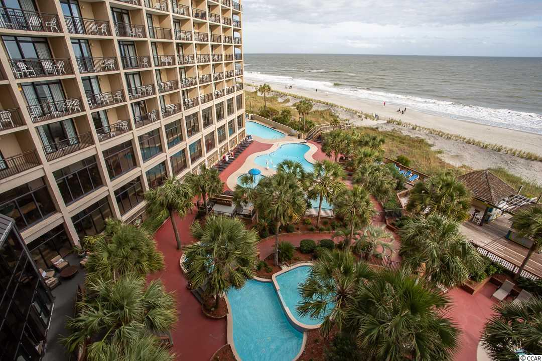Tower A and Oceanfront.  On 4th floor and only one floor from 3rd floor ramp from parking deck.  upgrades and really nice unit.   The view is spectacular!!