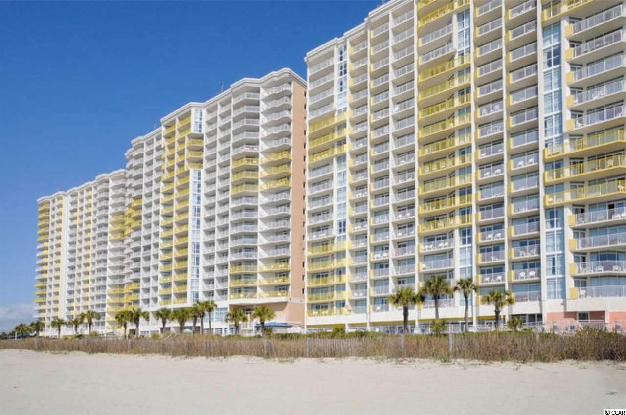 Come check out this great 10th Floor true 1 Bedroom Oceanfront Condo in the Baywatch Resort located in the Crescent Beach area of North Myrtle Beach! This unit has new mattresses, appliances, flooring and sliding door windows, and is a true 1 bedroom floor plan that also includes a murphy bed and sleep sofa for extra guests. The kitchen has a full size refrigerator, stove and new cabinets, as well as new vinyl plank flooring throughout.  The bathroom has a Jacuzzi Tub. Drive up to the front steps, be greeted by a bell captain to assist with luggage and valet parking! There is a concierge service, as well as the convention facilities, a full service restaurant and they are all located in the Central Tower!  Baywatch has indoor/outdoor pools, lazy river, Jacuzzis, fitness center, convention space, restaurant, sports and a tiki bar - everything needed for a great vacation! HOA fees are very affordable and include electric, cable and internet.