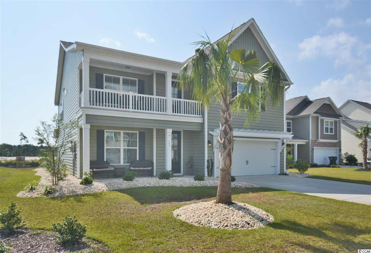 TRUE 5bd/3.5ba WITH BONUS and Screened porch on the lake in Preserve at Laurel Hill- only 10 mins to the beach! RARE - NATURAL GAS COMMUNITY! This home includes LOTS of upgrades including 2-car garage, quartz counters, large front porch & balcony, large closets and storage spaces, Master suite on the 1st floor as well as 4 other TRUE bedrooms including a mini-Master with balcony, and HUGE flex space perfect as a media/game room, office, craft room, or play room! This is the perfect home for multi-generational living as one family can live downstairs while the other family lives upstairs.  Murrells Inlet is just a short drive to everything Myrtle Beach has to offer including Coastal Grande Mall, Tanger Outlets, marinas, public docks, landings, restaurants, golf courses, shops, entertainment, MyrtleBeach International Airport, Broadway At The Beach, The Market Common, Barefoot Resort and Coast Carolina Univeristy (CCU). Also,only 90 miles to beautiful Charleston, SC.