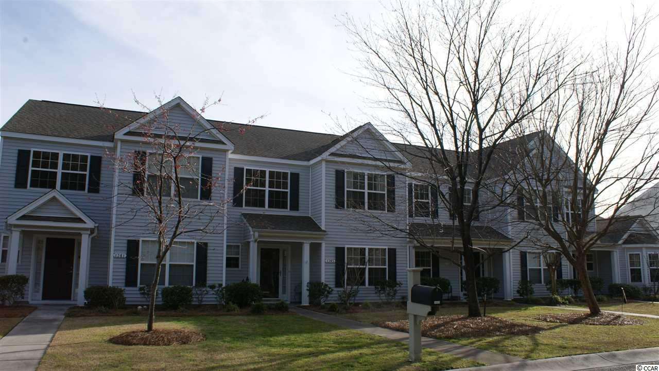 Move-in ready townhouse in central location!  Just move your belongings in and enjoy life at the beach!  Check out this clean, immaculate, move-in ready townhouse in the highly desirable Carolina Forest community of The Orchards in The Farm subdivision.  This one-owner townhouse, which has never been rented, has been lovingly maintained and offers an open and bright floor plan with a first floor master bedroom and bathroom, and a half bath off the foyer.  Beautiful and durable waterproof vinyl flooring was recently installed (April 2019) in the foyer, living room, dining room, kitchen, laundry/pantry, and all three bathrooms.  The second floor features two bedrooms; a full bathroom; and a large loft, which offers endless possibilities as a den, home office, game room, playroom, or craft room. The covered rear patio leads to the one-car detached garage, which has plenty of room for your vehicle along with additional storage.  This townhome also includes a newer HVAC (November 2017 and includes warranty); new light fixtures (2018); new toilets (2019); tile kitchen backsplash; new bathroom and kitchen faucets (2019); new blinds (2019); newer garbage disposal; new sink/vanity top in second floor bathroom (2019); new sliding screen door (2019); and garage door and garage door opener were serviced in March 2019. This central location is extremely convenient to International Drive and Highway 31, providing easy access to the entire Grand Strand area on both sides of the waterway. Grocery stores, shops, restaurants, gas stations, pharmacies, and medical facilities are nearby, and the beach is just minutes away!  The Farm itself has excellent amenities, including a clubhouse, two swimming pools, an exercise room, a playground, and a basketball court. Three Carolina Forest Schools are also within walking distance.  The owner is a licensed South Carolina realtor.