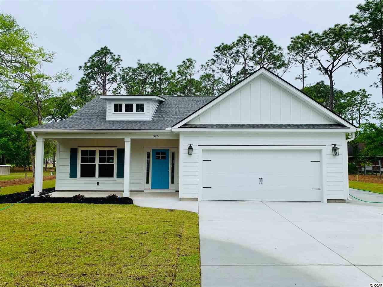 Low Country style cottage homes with impressive standard features to include LVT floors, granite counter tops, stainless steel appliances and carpet. Close to the shops, restaurants, golf courses and beaches of Pawleys Island. Take comfort in one of our newly constructed homes that has a reputation for quality and value. Whether you are a first-time home buyer or looking for your next home, Let us help you through the buying process and welcome you to your new home.