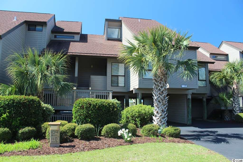 This Heron Marsh Villa, in Litchfield By The Sea, has new furnishings, fresh paint, granite countertops in the kitchen and stainless appliances.  It overlooks the marsh and is only about a 2 minute short walk to the beach. The main level living area has a vaulted ceiling and glass doors that open to a sundeck overlooking the saltwater marsh. The dining area also has a marsh view and opens to the kitchen. The main floor also features one bedroom and a full bathroom. This bedroom has 2 Single beds, and there is a sleeper sofa is in the living area. The 2nd bedroom is upstairs and features an enlarged full bathroom with double sinks. Bed size upstairs is a Queen.  The laundry room is upstairs with full size Washer/Dryer.   Litchfield by the Sea amenities include access to miles of beautiful beach, fishing lakes, fishing pier, marsh overlook with floating dock, 24 hr. security gate, over 7 miles of walking paths, thousands of acres of beautifully landscaped gardens, lakes and natural saltwater creeks and marsh.
