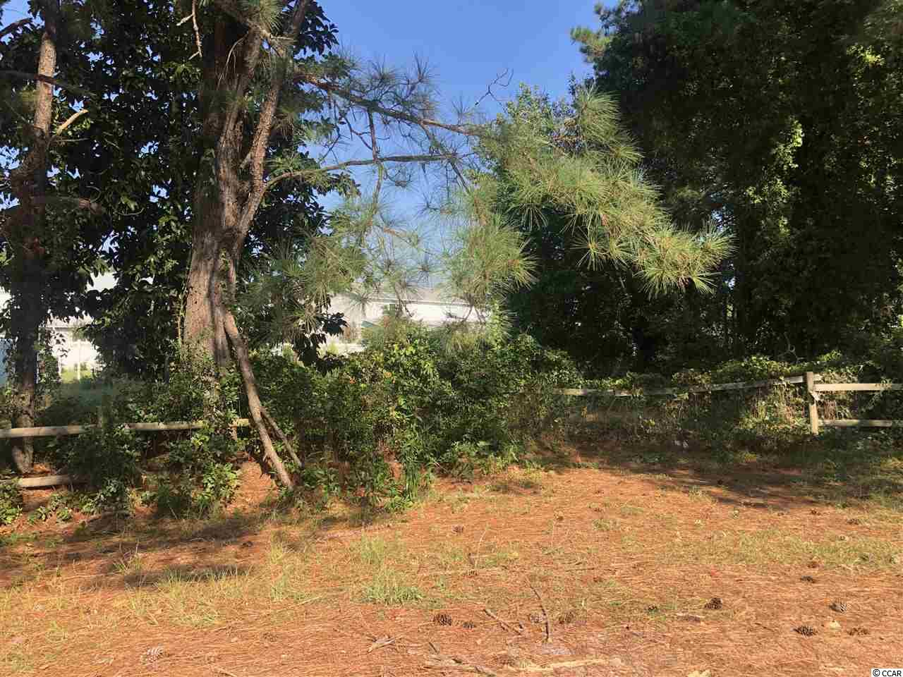 Nice lot ready to build on. Rare to find a lot in Little with no HOAs. Close to everything Little River has to offer. 8 minutes to beach.