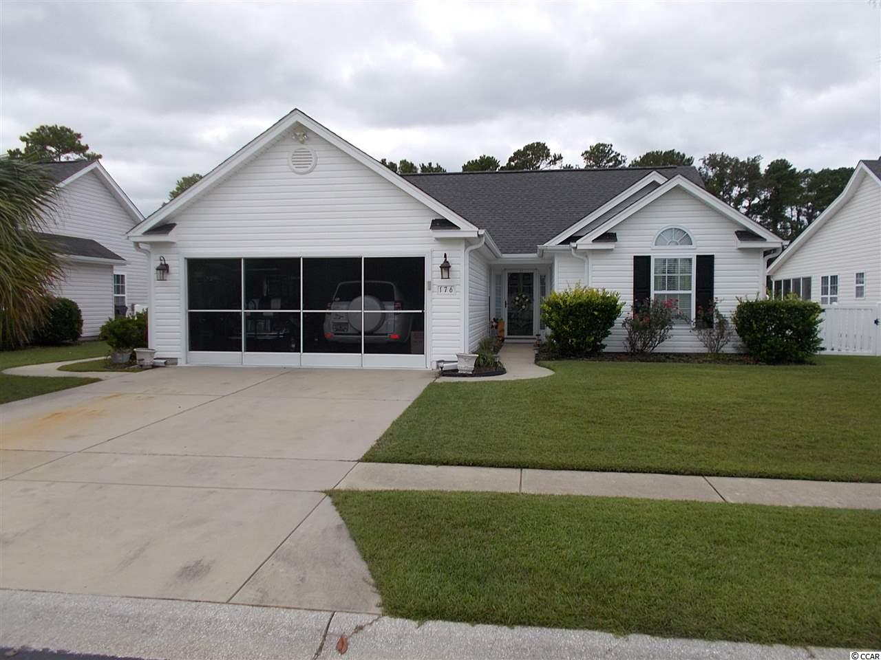 Adorable 3 bedroom 2 full bath home located in Beautiful Surfside Beach. Home well maintained, stainless steel appliances just replaced in 2018, New flooring replaced in all 3 bedrooms in 2017 with wood flooring in master bedroom and master closet and carpet in both guest bedrooms, HVAC system replaced in 2015. Irrigation system in front and rear of property. Ceiling fans in every room including the kitchen, Vaulted ceilings thru out, beautiful wood blinds included in purchase. Sliding glass doors off of the breakfast nook area and from living room to screened in back patio over looking spacious Fenced in backyard, with plenty of room to install your own pool. Comes with home warranty with 14 months of coverage through Home Warranty Inc.  A must see, call today to schedule an appointment.