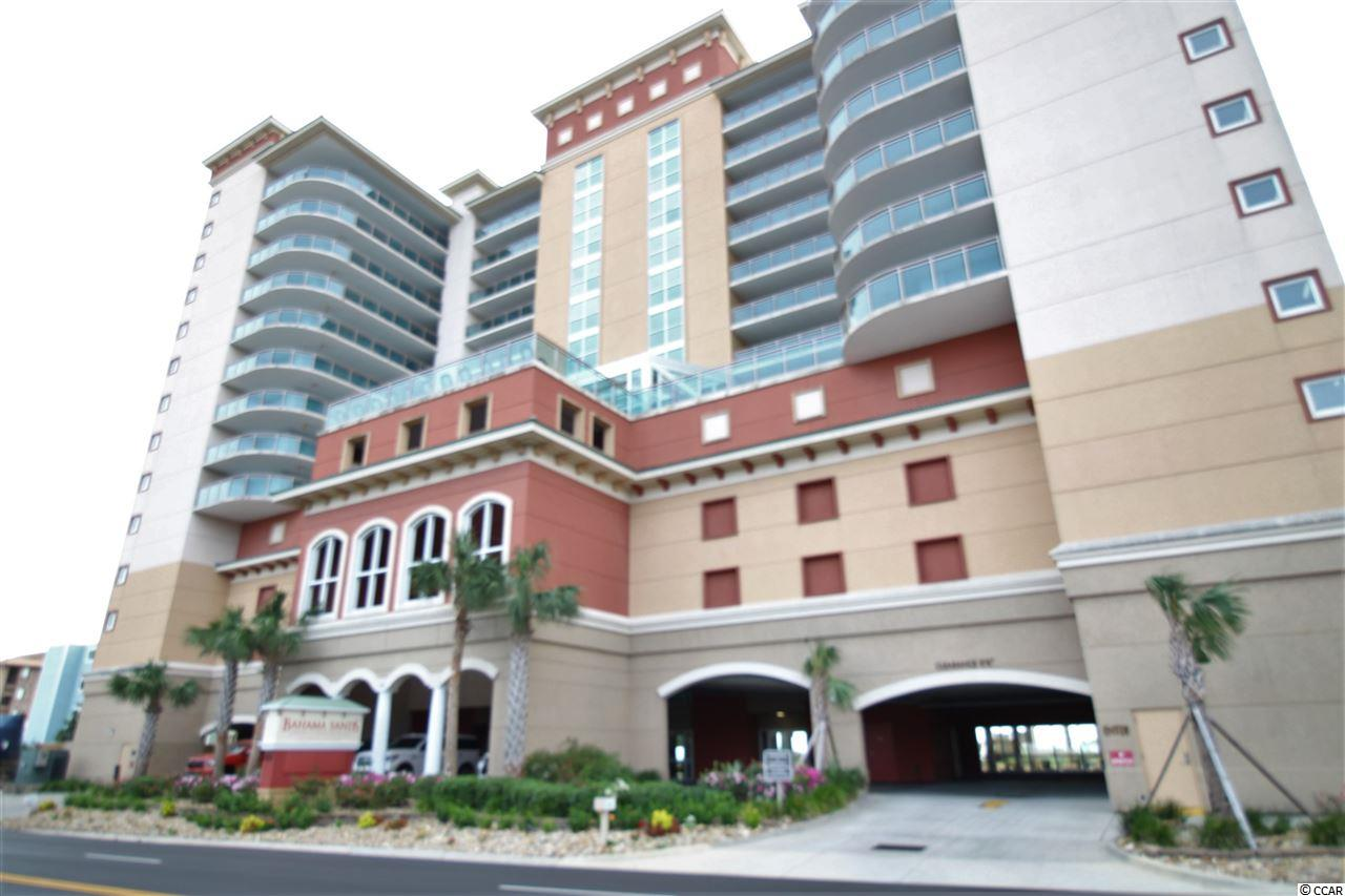 There's a lovely and spacious 3 BR, 2 BA ocean front condo in the beautiful Bahama Sands complex that's looking for new owners. Enjoy the north-south and unobstructed ocean views from the spacious ocean front balcony or spend some serious time relaxing in the pool, lazy river or jacuzzi.  Located in the Crescent Beach section of  N. Myrtle Beach, you'll be close to all beach activities, to include the near-by shagging clubs in Ocean Drive. The unit will make a great primary or vacation  home.  For the investor,  there's plenty of opportunity to make some serious rentals via a local rental management company, a private rental website where you handle your own rentals or a combination of both methods.    All measurements are approximate and not guaranteed with verification the responsibility of the buyers.
