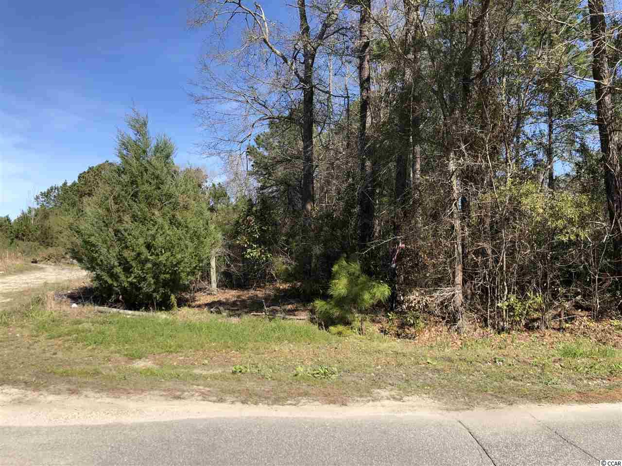 North Myrtle Beach and Little River area.  Acres. Conveniently located off Robert Edge Parkway between North Myrtle Beach Main St. Connector and the new North Myrtle Beach Sports Complex. Well sought after up and coming growing area. Central to North Myrtle Beach and Little River. Excellent opportunity for home site, development and/ or business opportunity. Close to shoppes, restaurants, retail outlets, sports grills, golf, fishing, Intra Coastal Waterway (ICW) and most beautiful white sandy ocean beaches of the Grand Strand.