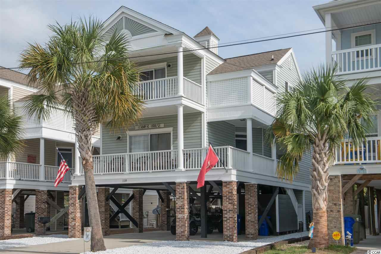 Awaken to a beautiful South Carolina Sunrise; enjoy your morning coffee from your Master Bedroom balcony with ocean views and balmy breezes.  Unwind after a long day with a relaxing swim in your own pool or relax by the fire pit in your outdoor entertaining area.  This home can be your little piece of paradise away from it all!  It is located only steps away from the beautiful Atlantic Ocean in Surfside Beach, also known as the Family Beach, and is only a short walk to Surfside Pier. This 4 bed 3.5 bath home boasts bamboo floors throughout with tile in bathrooms, solid surface countertops, slate finished appliances, large bedrooms, all new (2017) modern furnishings, great storage and lots of outdoor living space.  This home has never been rented;  it can work great as your beach getaway to enjoy with family and friends, perfect as your permanent residence where you can enjoy this space every day!  Great Investment opportunity - located in the weekly vacation rental zone of Surfside Beach.  Don't miss out on this great opportunity!  Call today to schedule your private showing!
