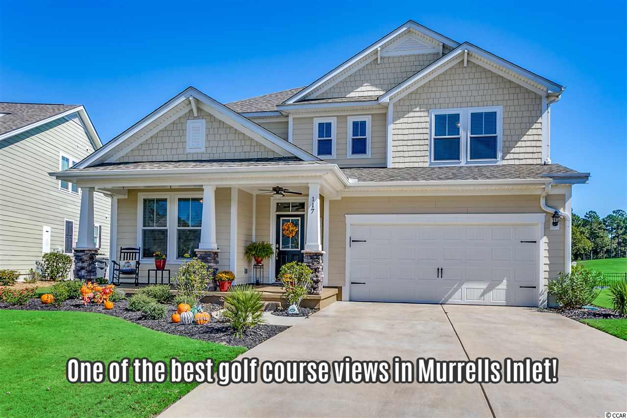 "It's one of the best golf course views you'll find in Murrells Inlet! 117 Champions Village Drive overlooks the 18th green of the only TPC ""Tournament Players Champions"" course in South Carolina. The back yard is a nice size and you have 2 screened-in porches that allow you to enjoy the scenery. Not only does this home provide you the beautiful golf course views, but it's also located on a pretty pond that provides you water views and some separation from the course itself. Champions Village was designed to be a premier community of Murrells Inlet (Prince Creek), which exhibits a lifestyle so many of us are dying to be part of. The community offers a nice pool, clubhouse (with TV's, event area, kitchen, and pool table), and the ability to walk to the TPC clubhouse for breakfast, lunch, or happy hour. The TPC club has many events to take advantage of as well (weekly Margarita Mondays, weekly Wine Wednesdays, great golf tournaments to watch as a spectator, and much more)....You'll even run into well known professional golfers from time to time!! 117 Champions Village Drive also features some unique differences that should be highlighted. Unlike some of the others on the golf course, this particular home was built by ""Port City Homes"" a well-known local custom builder. There are many top-of-the-line features that were added throughout the original construction of this home. But the current owner has also added many additional upgrades as well! This home offers a great floor plan. The double living rooms and screened-in porches are just perfect for those of you that have lots of visitors or desire some separation within your household. **Another huge positive of this home/lot is it has one of the largest driveways within the community. You could literally fit 6 vehicles between your driveway and garage if needed (the perfect house for those who plan to have visitors!)** ((Don't forget to check out the 3D home walk through by clicking the virtual tour link provided!))"