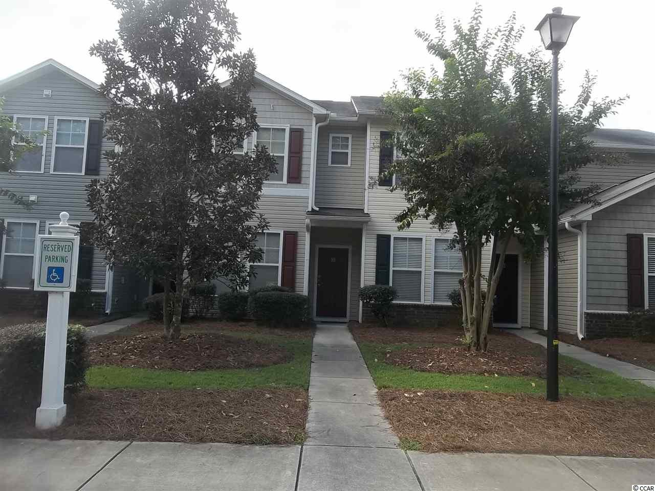 2 bedrooms upstairs with a bath off each, the half bath is downstairs.  Downstairs is living room, dining room and kitchen.  The kitchen leads to a back porch that overlooks a lake.  Rental income immediately.  Renter is in place 24 hours to show.