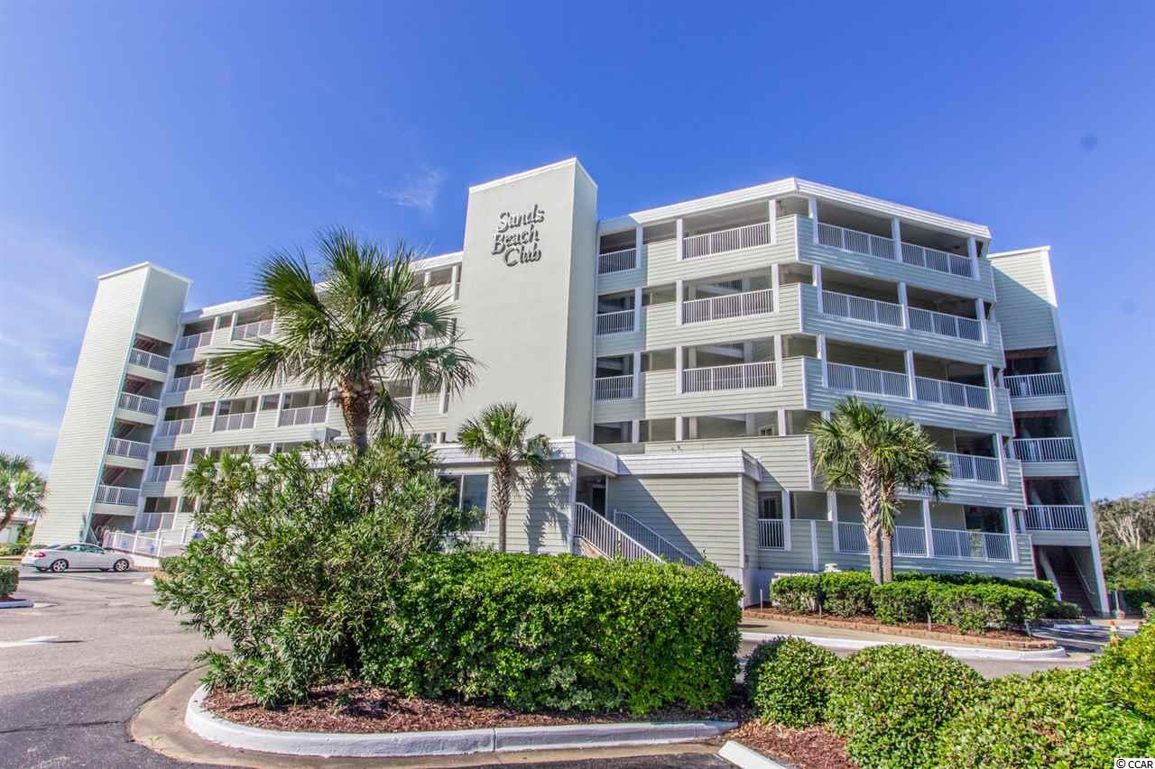 What a great location on the 4th floor for this 2BR 2BA condo overlooking a tidal swash(inlet) out to the ocean and across to the Dunes Club. The Sands Beach Club is located at the end of Shore Drive in the Arcadian section of Myrtle Beach. Fish and crab right in front of your condo or hit the beach, really a unique locations. Sold fully furnished condo and the seller is offering a flooring allowance! New HVAC and water heater. The Resort had significant exterior updates recently including newer sliders and windows. Amenities include indoor and outdoor pools, spas, tennis courts, restaurants and more! You must experience this view to truly appreciate how gorgeous it is.  Close to Barefoot Landing, entertainment, restaurants and golf. Make this your vacation home, primary home or investment property!! Don't delay!!