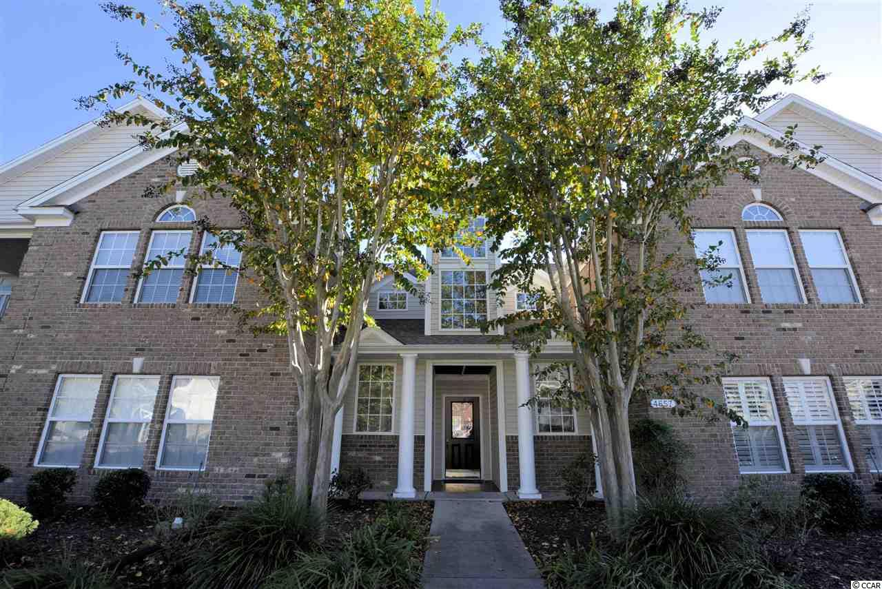 Well maintained & elegantly updated! Current owner uses as a second home; this Sought after First Floor condo overlooks a large pond and the third hole of the award winning golf course of Wachesaw Plantation East; a gated community in Murrells Inlet. This home is all on one spacious level & being sold completely furnished so it is move in ready! Value Added Updates include: Gorgeous quartz countertops, New black-stainless steel appliances, New Washer & Dryer, New high quality laminate flooring in living areas, crown molding in living areas and first bedroom, PLUS Fresh, neutral paint throughout! What More could you want? It's all been done for you! The master suite boasts two walk-in closets, linen closet, dual sinks, glass door step-in shower & garden tub. The 2nd bedroom has a french door for direct porch access. 3rd bedroom for your guests off the hallway as well as the second bath and laundry room.  Wachesaw Plantation East is an established, gated community that offers SO much for such a LOW HOA fee. The list: 24-7 uniformed security, HTC Fiber Optics recently installed offering High speed cable & Internet. Surrounded by a beautiful, affordable golf course, walking /fitness trails throughout, nice pool, tennis courts and workout room. PRIME Location:1 mile to the famous Murrell's Inlet Marshwalk, or 1 mi. out the back gate to the marina on the Intercoastal waterway with public boat landings. Close to the pristine beaches of Huntington State Park, Brookgreen Gardens, Hospital and shopping.