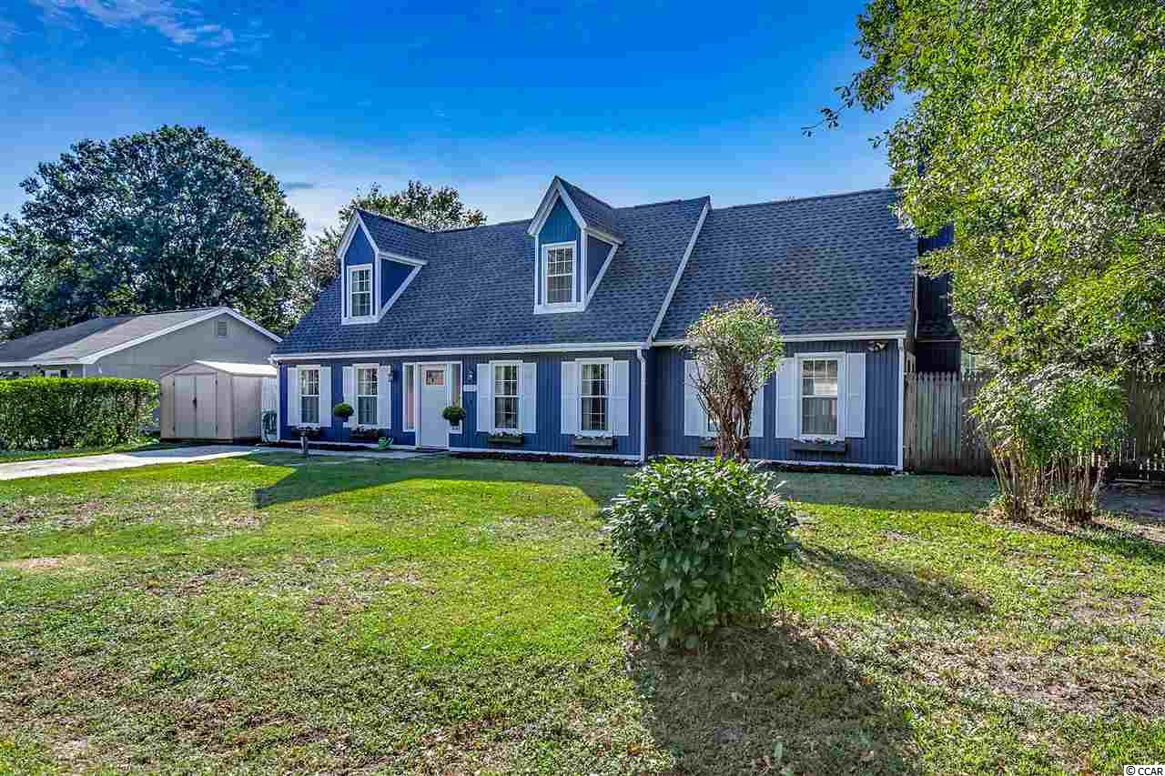 Welcome to your updated, NO HOA home with a fully fenced in back yard!  This corner lot, 3 bed, 2 bath home sits on .25 acre and is ready for its new owner.  With a formal dining room, large kitchen, and open living room, this home has plenty of room for everyone!  The kitchen is updated with gorgeous cabinets, hardware, & backsplash - and stunning!  The living room features a gas fireplace and perfect windows that let in the light and truly make this room shine.  The master bedroom (which has been expanded by 100 sq. ft!!!) has not one but TWO master closets, an ensuite, and a gorgeous exposed beam.  This master bedroom will be your piece of paradise.  Rounding out this property is a lovely Carolina Room and a scenic backyard featuring mature trees and a grape vine. The entire home has new shingles, new HVAC, New Water Heater, Fresh interior & exterior Paint, light fixtures. The large backyard offers a new 10' double gate & poured coquina/gravel, perfect for RV/Boat Parking!! This home is located in an award winning school district. This home has never flooded, and is not in flood zone.