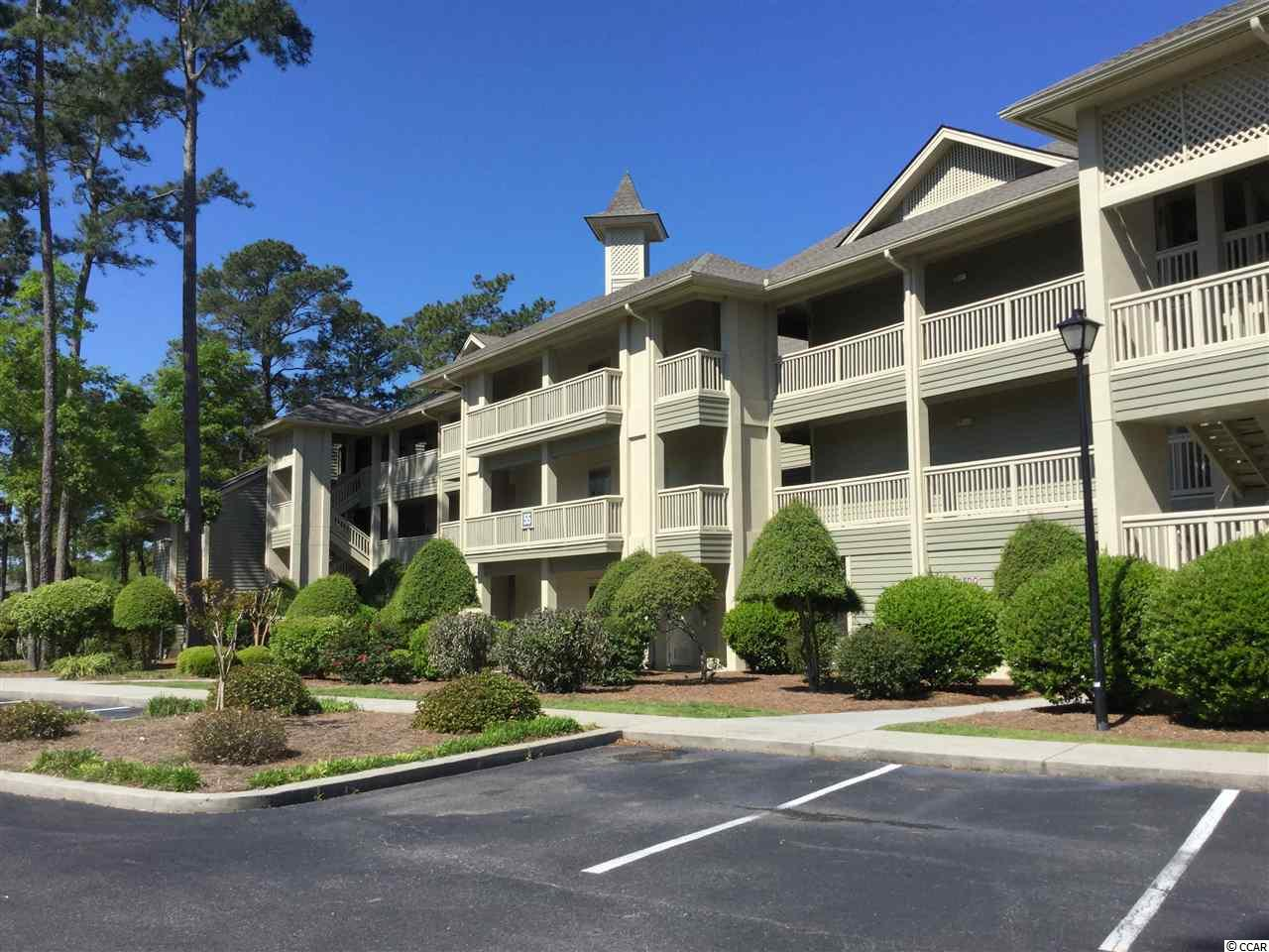 Enjoy the views of the Award Winning Tidewater Golf course and a Waterway view from several rooms in this 3 bedroom / 3 bath condo.  Large master bedroom with sliding doors to the screened in porch overlooking the 18th fairway. Master bath has separate shower and jetted tub with double vanity.  Upgrades includes:  carpet replaced 2017, new HVAC system 2018, new microwave 2018, new garbage disposal 2019,  water heater replaced within the last 5 years.  Master bedroom and Second bedroom has walk in closets, third bedroom has a double closet.  The kitchen has good cabinet space, pantry and breakfast bar.  Tidewater is a gated community with 24/7 security.  Enjoy the beach cabana, pools, tennis courts and fitness center.  Storage area available for owners as well.  And don't forget the golf!  Plus much more in this beautiful community.