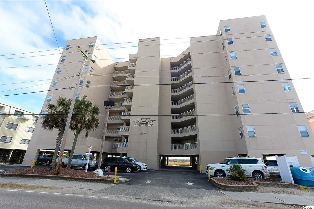 Great three bedroom two bath unit on oceanfront.  This is a corner unit with a large deck that is open on two sides with beautiful ocean views.   Seller has paid to have deck floor refinished.  Has not been on a rental program!  Furnished and ready to move in or rent!