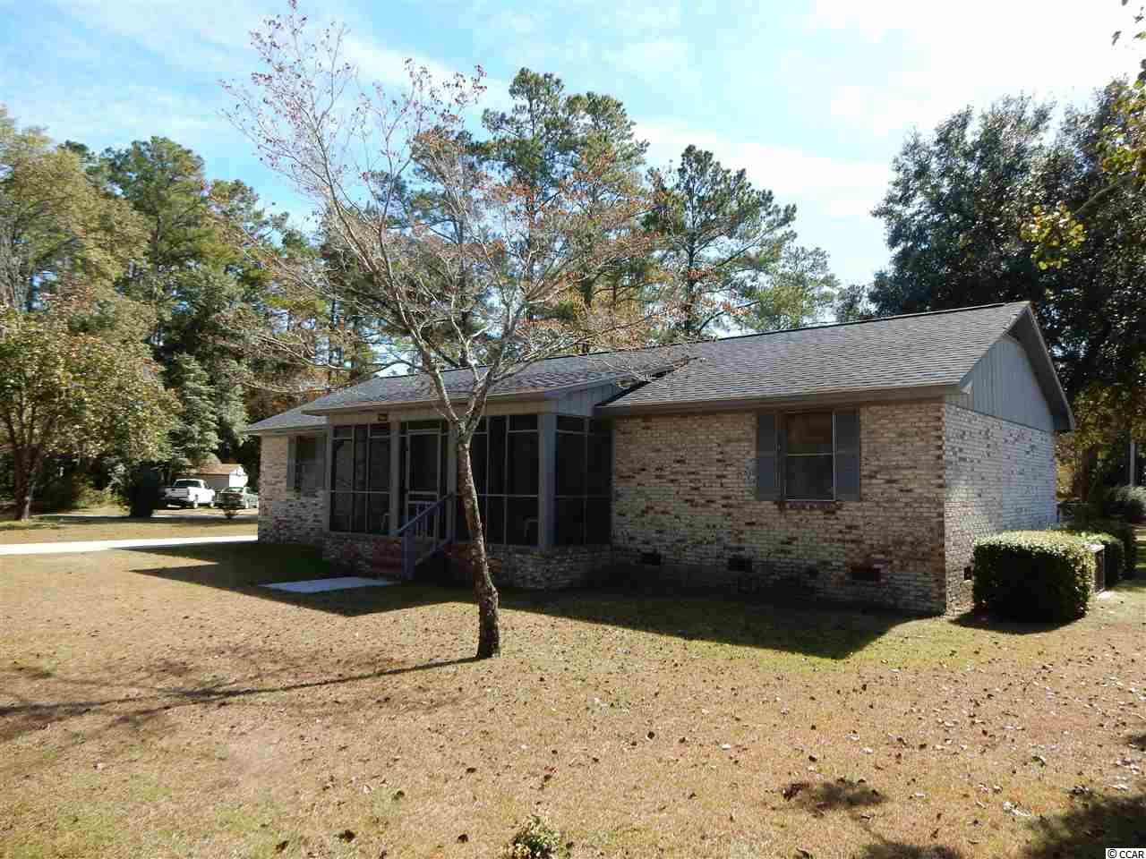 Home is all brick with carport and storage room. Large lot, plenty of parking. Corner lot. 3 bedrooms 2 bath. Discover the hidden treasures of Downtown Conway . Located just 15 miles from Myrtle Beach. Conway is filled with history and charm. Square footage & dimensions are approximate & should be verified by buyer.