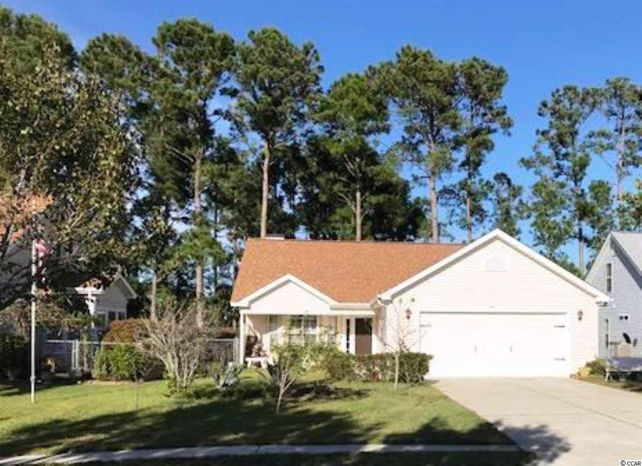 Great 3BR/2Ba 2 car garage with a beautiful fireplace in the living room located on a quiet street overlooking the pond.  Mallard Landing is a very sought after community located just over one mile from the Surfside Pier.  Conveniently located close to all the amenities Myrtle Beach has to offer, but tucked away in this quiet neighborhood.  The home has a newer hearing and air system and roof.  Make an appointment today to view the great home in this awesome community!  (Tomorrow might be too late!)