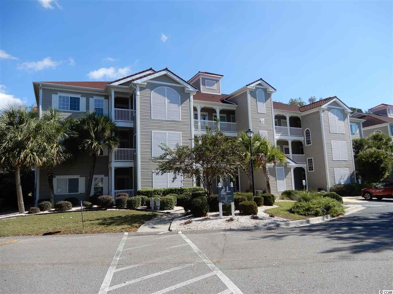 Welcome to Harbourfront Villas in the Intracoastal community of Coquina Harbor.  This 2 bedroom and 2 full bath condo comes beautifully furnished and maintained.  Enjoy this third floor condo and it's cathedral ceilings in living room and master bedroom.  Relax on your screened porch which overlooks the golf course and pond with lots of trees and nature.  Elevator in building. Located in Little River which is only a few miles to the beaches.  All shopping, restaurants and golf are right here.  The pool and hot tub awaits you just a few steps from your door which overlooks the marina with the most gorgeous views.