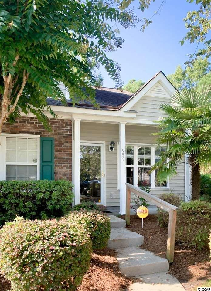 Beautiful 3bd/2.5ba end unit town home. The home boast beach living, in a gated community approximately 1 mile for the beach. This home features first floor master, family room with vaulted ceiling and ample closet space. Enjoy family and friends on your screened in porch with additional privacy and yard. Original owner, only used as vacation home, in great condition. Enjoy the amenity center with large pool, lounging areas and courtyard . Just a few minutes' drive to everything Myrtle Beach has to offer including shopping, marinas, public docks, landings, restaurants, golf courses, shops, entertainment, Myrtle Beach International Airport, Broadway At the Beach, The Market Common, Barefoot Resort and Coastal Carolina University. Tenant is responsible for paying all utilities, except water and trash. No smoking allowed. Minimum 1-year lease required.