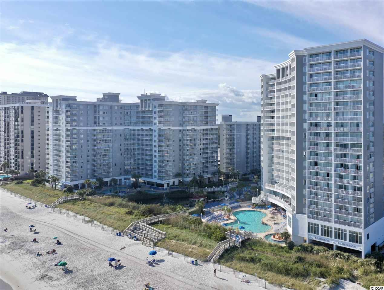 Welcome to Seawatch North Tower where you'll find this highly sought after 1 bedroom Ocean Front Condo. Unit features a King bed in the bedroom, full kitchen, sleeper sofa and a beautiful view of the Atlantic Ocean from the balcony. Resort amenities include 6 swimming pools including a indoor pool, hot tubs, seasonal tiki bar, play ground, lazy river and so much more. Call today to view this great unit before it's gone. All measurements and information are to be verified by buyer