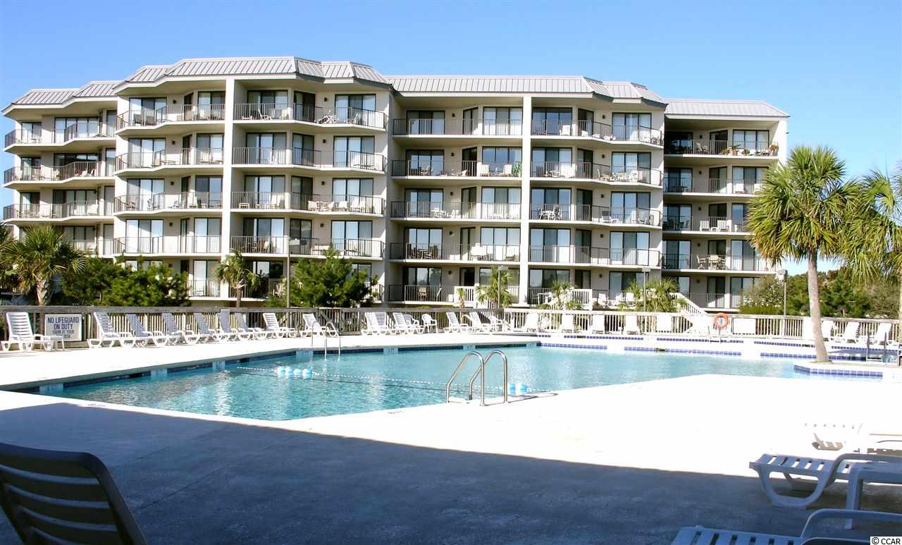 Completely refurbished, 1st floor interval share, overlooking the pool and common areas of Captains Quarters.  4 weeks each year (1 each season) give you that well deserved beach time that you are looking for.  Condo was refurbished in 2016/2017 to look and feel practically brand new.  Great views of courtyard, pool area, and dunes/ocean from the great room, master bedroom, and covered porch.  External staircase off of porch area to access courtyard and pool areas for convenience.  Condo sleeps 8 with a king in the master, queen in bedroom 2, 2 singles in bedroom 3, and queen sofa sleeper in great room.  HVAC was replaced in 2018 and recent water heater replacement.  Renovations include, replaced windows and doors, popcorn ceiling removal, carpet in 2 of the bedrooms, granite counter tops and cabinets in kitchen,  appliances to include washer and dryer were replaced, quartz vanity counter tops in bathrooms, den furniture, and lighting throughout.  Covered assigned parking space and locked storage area for beach gear.  Enjoy the amenities of Litchfield By The Sea to include 24 hour guard gated security, bike and walking baths, fishing areas, tennis, grill areas, and so much more!  Come buy your piece of Pawleys Island, SC today!