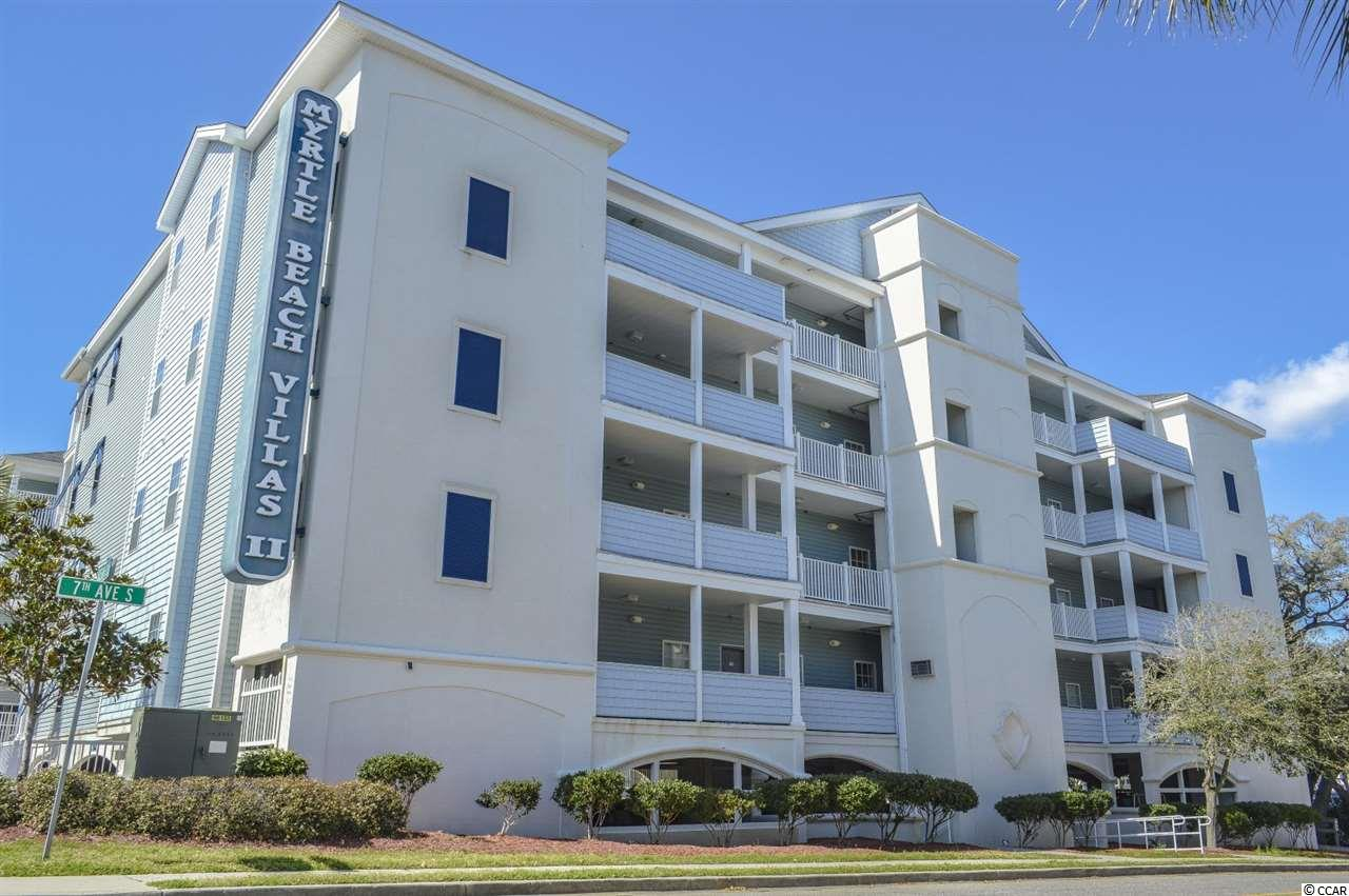 RECENTLY REDUCED - GREAT SECOND HOME/INVESTMENT. Located along the second row in south Myrtle Beach, this 4 bedroom 3 bathroom furnished end unit at Myrtle Beach Villas is a rare find. If location ranks high on your priority list, then this unit is certainly one to consider. Myrtle Beach Villas is located between 7th-8th Avenue S on Ocean Blvd and is not even 100 yards to the beach. As if being surrounded by plenty of shopping and dining options weren't enough, you're also within walking distance to Family Kingdom - the only amusement park Myrtle Beach has to offer. Did we also mention the Myrtle Beach boardwalk and Sky Wheel are right around the corner? If you don't feel like hitting the beach, Myrtle Beach Villas offers amenities on-site such as a pool/lazy river, kids splash zone, hot tubs, and outdoor picnic area w/ built-in BBQ. This unit boasts a nearly 2,100 heated square foot open floorplan all on one level. Sold fully furnished and features TV's & overhead ceiling fans in the living room and all 4 bedrooms. The kitchen is very spacious and features a full compliment of appliances, granite countertops, and a dining area that overlooks the living room. Hallway entrance, bathrooms, and main living area floors are ceramic tile, which is perfect after a day down at the pool or the beach - easy maintenance. Laminate wood floors throughout the bedrooms. Laundry/utility closet features a full size washer & dryer, as well as overhead storage space. There are a lot of other upgrades in this unit like a Jacuzzi tub in the master and recessed lighting in the living room that make this unit one that will not last long on the market. Don't miss your opportunity to own this slice of prime beach paradise before it's too late - perfect investment/secondary property!