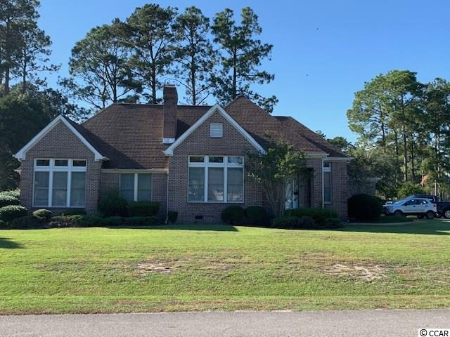 Awesome all brick home located on premier corner 1/2 lot overlooking tee box on Myrtle Beach National Golf Course. Home features 3 bedrooms, 2 1/2 baths, formal dining room, separate den, enclosed sunroom, recent new roof & HVAC. Lot is large enough that a wonderful pool area could be built. Home is conveniently located to elementary/middle/high school, Coastal Carolina University, Horry-Georgetown Tech College and Conway Hospital. Southcreek community offers golf, clubhouse, community pool, tennis and social events. Appraisal on file!