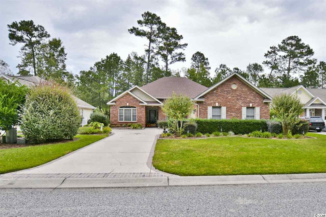 Welcome home to this outstanding, brick built, 3-bedroom 2 bath home located in The Sanctuary @ Wild Wing Plantation!! This home offers a 2-car side load garage, and a secure electric keypad. Walking inside you will find a formal dining area with tray ceilings, an office directly across from the dining area which features French doors, and a hidden Murphy bed behind the bookshelves. The living room offers an open floor, hard wooded floors, and a double fireplace!! Head into the grand kitchen and you will find all stainless-steel appliances, a kitchen island cooktop with a hood, and plenty of cabinetry. Heading into the master bedroom which has tray ceilings, a ceiling fan, and plenty of open space. The master bathroom is absolutely breathtaking with the wrap around white cabinetry, double sinks, shower, and jacuzzi tub!! Step out back and you will find your screened in porch, perfect for sitting out and enjoying the weather's breeze and sunshine! When buying in The Sanctuary @ Wild Wing Plantation you are on a golf course lot with plenty of beautiful views, you are conveniently located near the Grand Strands finest restaurants, shopping centers, and more!! Call and find out how you can get your private look today!! This one is a MUST see!!
