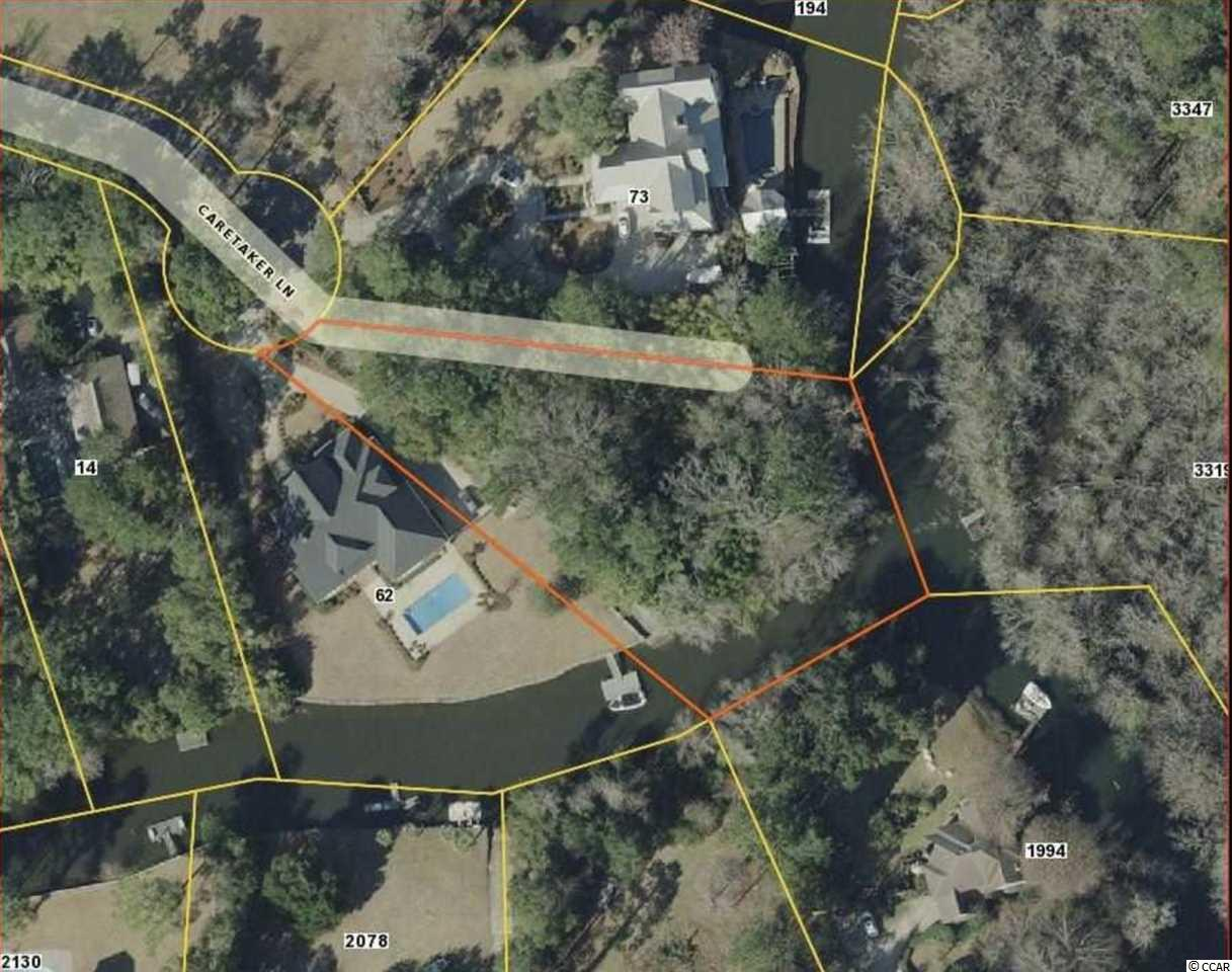 One of the few and finest creekfront lots available in the prestigious and sought after community of Waverly Creek.  Mature Live Oaks throughout this one of a kind serene lowcountry neighborhood.  Lush landscaping and 200 feet of shoreline offer plenty of room for a dock-where you can hop on a boat and be on the Waccamaw river in minutes.   Still convenient to all shopping and restaurants.  Situated at the end of a cul-de-sac,  the perfect place for a private and peaceful home.