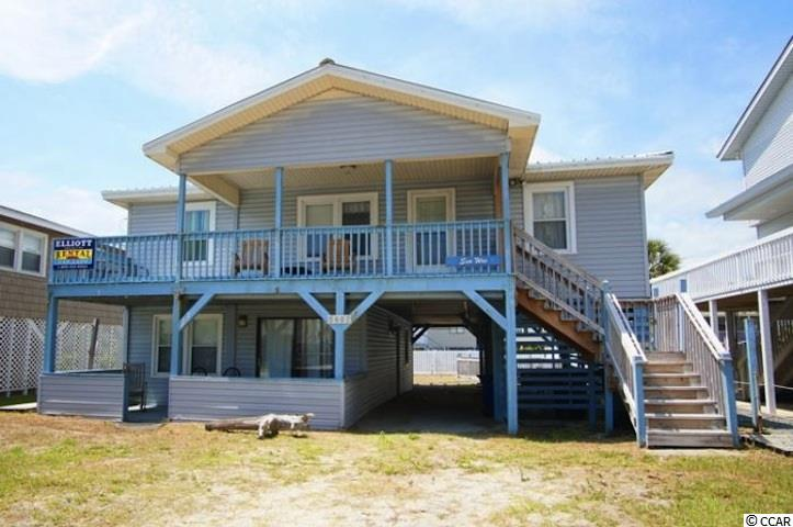 Great Location ! This home is located in the very popular Cherry Grove Beach. Amazing opportunity for beach get away which sleeps 20. It has 6 bedroom 3 full baths, 7 flatscreen tv's. Whether you prefer a saltwater swim in the ocean or a refreshing dip in your own private pool, both options are available to you. This duplex has 4 bedrooms upstairs with full kitchen as well as 2 bedrooms and full kitchen downstairs. Excellent rental property!