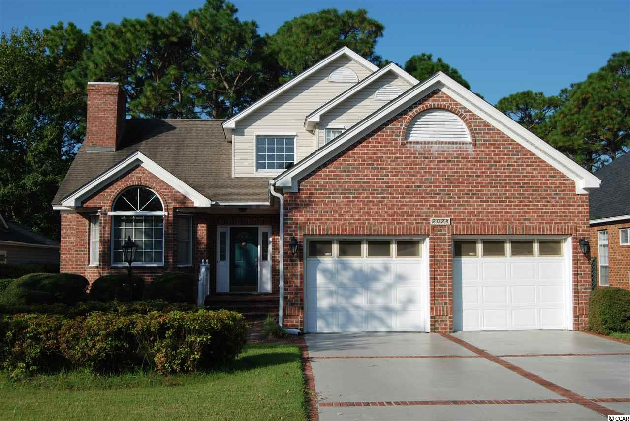 ESTATE SALE!!! Original Owner who had the Home Custom Built.  3 Bd./3.5 Bth. Brick Home on # 14 Fairway of Guard Gated Prestwick CC.  13 X 16 Carolina Room. All Living areas and Master Bedroom on 1st Floor, 2 Bedrooms +2 Baths Upstairs. Crawl Space has been Professionally Encapsulated!! True Oak Hardwood flooring in Great room, Dining room,Carolina room, Kitchen & Breakfast Nook, Master Bedroom. All Bedroom Closets are Cedar lined. Large Laundry room w/ wash sink. Spacious Garage w/attached Storage room. Hurricane Panels, Security System, Rear Wood deck! Prestwick is a Premier Guard Gated Golf Course Community in an Excellent Location! HOA Fees Include use of Jr. OlympicSized Pool, Cabana & Tennis Courts, Cable TV w/Premium Channels & Internet, Security Guards, Trash, Yard Debris & Recycle Pickup!Pete Dye Designed Golf Course within Community & Additional Tennis Stadium Membership Available. Award Winning LakewoodElementary School & Access to the Beach through the Myrtle Beach State Park are both just 1/4 mile away. All. Sq. Ft. Meas. areApprox. & Not. Guaranteed. All Sq. Ft. Measurements are to be verified by the Buyer or the Buyer's Agent.***LSV Type Vehicles (GolfCarts) are Allowed.***