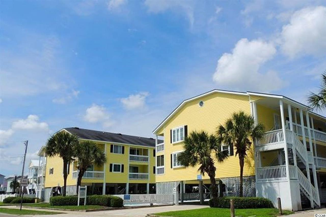 ***PICTURES & 3D TOUR COMING SOON***  2 bedrooms, 2 full bathrooms, ocean views from the living area and balcony/porch, and just 100 feet from the beach!!  What more do you need!?  This unit offers a great value for a budget beach home buy, for an investment opportunity, or a combination of both.  This unit overlooks the pool on 1 side, and has ocean views on the other side!  2nd floor allowing for a better view and privacy, but just 2.5 flights of stairs.  New vinyl plank floors throughout all areas except the tile bathrooms, brand new granite counter tops in kitchen with a fresh coat of paint on the cabinets.  Newer vanities in both bathrooms, as well as other minor updates and painting throughout the unit.  Well cared for and turn key ready!!