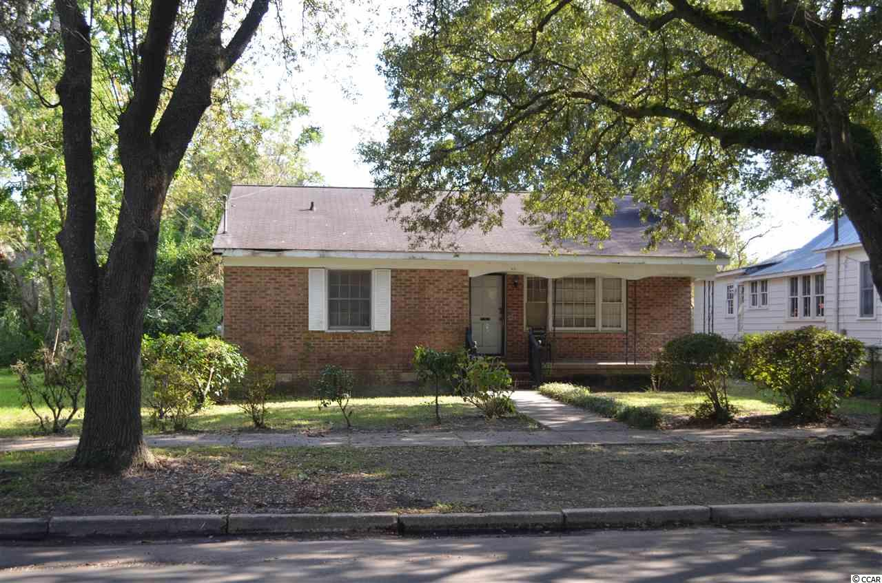 Great location in the Historic District of Georgetown SC.  The home has lots of potential.  You are close to all that Downtown Georgetown has to offer, walking distance to the Waterfront, shops, dining, etc.  Home is Sold AS IS