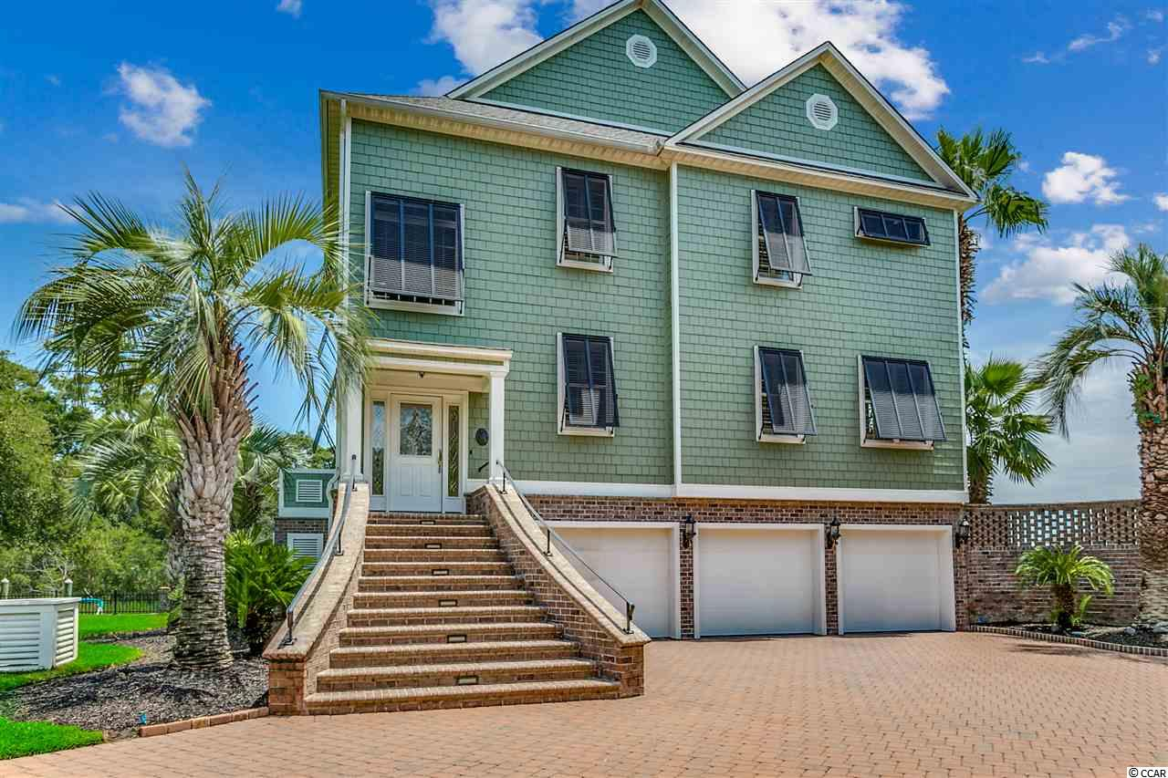 This is by far one of the most spectacular water front estates on the east coast. The home has a swimming pool and pool house along with a floating dock and boat lift ……..It is located in the heart of Murrells Inlet on Carson Creek Drive which only has (4) homes. Shown by appointment only to qualified buyers...………..thank you !!!!!