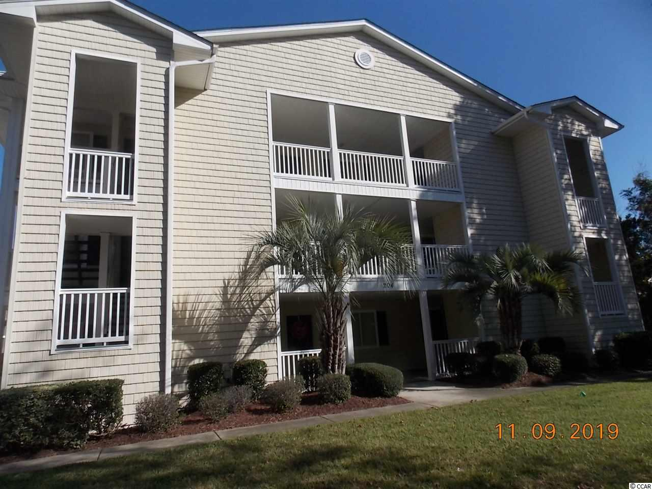Quiet gated community, Very clean furnished 1 bedroom condo on 2nd floor screened in porch over looking pool. Rear balcony setting area over looking the community yard. Storage Room. HVAC replaced in 2008, 6 month old hot water heater, Roof and siding have been replaced in 2005, just minutes away from the beach, golfing, shopping, restaurants, entertainment close to Main Street. Get for 2nd home or investment. WILL NOT LAST LONG, MAKE AN OFFER TODAY.