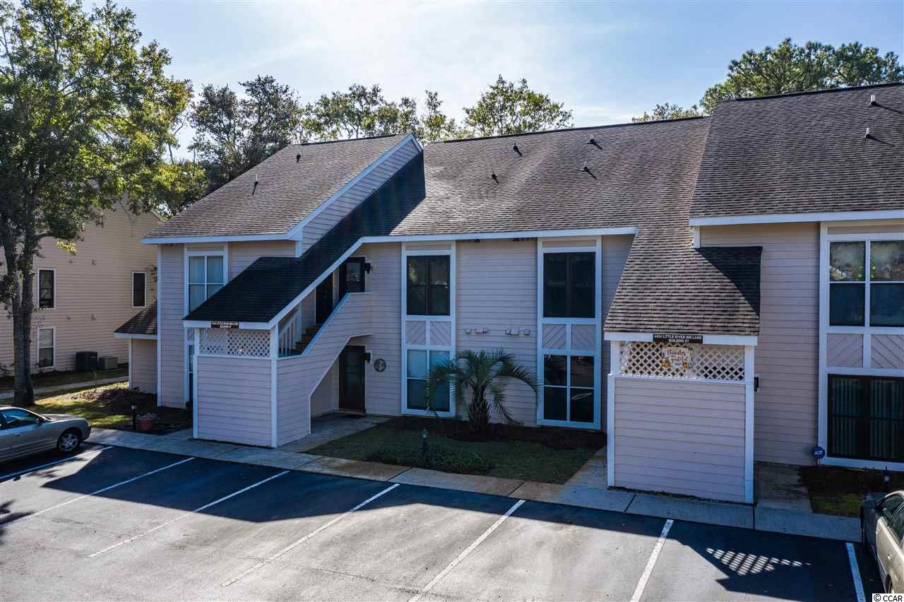 Located in the heart of Little River in the Little River Golf & Health Community-  this Two bedroom, Two Bath Condo has an open floor plan, second level condo entrance, with master on entry level of Condo. There is an oversized loft upstairs with separate bath and laundry room. Newer AC Unit Replaced in 2015. Plenty of storage space. New Plantation Shutters on Skylights added in this clean condo. Long Term or Short Term Rental Investment option. Community includes two nice sized pools. Conveniently located in Little River off of Highway 17 near Highway 31, Highway 90, Highway 9 and just minutes from North Myrtle Beach, Cherry Grove, and/or Calabash. Schedule a showing today! Sold as is  Ask agent about details pertaining to closing cost credit.