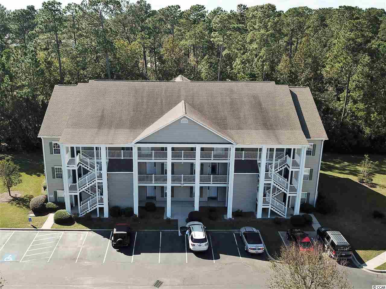 """This updated 3-bedroom, 2 bathroom condo is a 2nd floor end unit in the Marcliffe community. Located in the Blackmoor Golf Resort,you are just minutes away from the beach. What an incredible opportunity for somebody! Whether you're planning on making it a primary residence, a beautiful second home at the beach , or even an extra revenue stream! This might be the one. You enter the home into a tiled foyer, with each of the two extra bedrooms located on either side. You're view forward spills into a large, open floorplan. To the right you will find the spacious kitchen. It features extra tall, 42"""" cabinets, finished with cabinet trim. The Crown Molding that adornes the ceiling throughout the kitchen and living room, showcases the higher than normal 9' ceilings that run through-out. If the goal was to create a space with convenience and entertaining in mind, they have succeeded. With the doored pantry and a separate laundry/utility room located in the back of the kitchen, there is plenty of extra storage. Have a quick meal at the breakfast bar or use the area as a buffet for guests to enjoy. The dining area has a bump out that lets tons of natural light flood into the area helping to create that warm, cozy feeling, that every dining room should have. It also features Chair rails and wainscoting that wrap around the dining area. Next you walk into the living room. A large spacious room towards the rear of the condominium with access to the Master Bedroom and the rear screened in balcony. The private Master Bedroom is large and has a linen closet and a separate Walk-in closet, again plenty of storage.The back screened in balcony is perfect for the morning coffee or an evening libation. This condo is conveniently located to shopping, the Murrels Inlet Marshwalk, wonderful dining, and the Huntington Beach State Park. Call to schedule a showing today! Welcome to the Neighborhood!"""