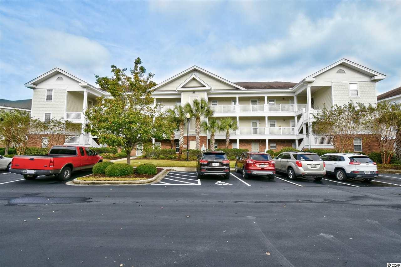 Welcome home to this fully furnished, 2 bedroom, 2 bathroom unit in the highly sought after, River Crossing at Barefoot Resort. This unit features an open floor plan of the main living areas, making spending time with family and entertaining guests a breeze. The kitchen is equipped with all appliances, a large breakfast bar, and plenty of cabinet and counter space. Each bedroom includes a spacious closet and easy access to its own bathroom. Spend your afternoons relaxing on your 3rd floor balcony, or socializing with neighbors at the many Barefoot amenities. River Crossing owners can enjoy access to all of the Barefoot amenities, including outdoor pools, clubhouse, tennis courts, oceanfront cabana, members club, and more! Whether you are looking for your forever home, a second home near the beach, or your next investment opportunity, you won't want to miss this; Schedule your showing today!
