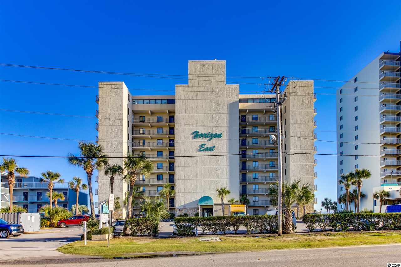 Horizon East 2BR/2BA Oceanfront Condo.  Just updated: luxury vinyl plank flooring throughout, paint, lighting, granite, stainless appliances, Hot Water Heater, custom drapes & more!  Nicely decorated and outstanding ocean views!  Property offers: oceanfront outdoor pool, sunning deck, owners lounge & more!