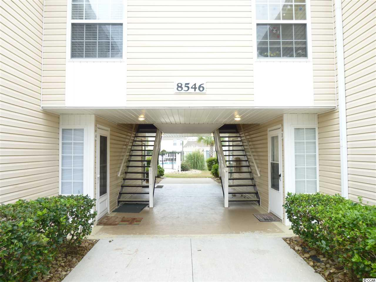 3 bedroom 2 bath first floor unit next to the community pool. This unit is partly furnished .  2.2 miles to the beautiful Atlantic Ocean and the soon to be rebuilt Surfside Beach Pier. Great vacation home or snow bird home.  Pack your bags    and come on down. { leave your snow shovel behind !! }  Long term rentals are allowed according to the hoa rules.