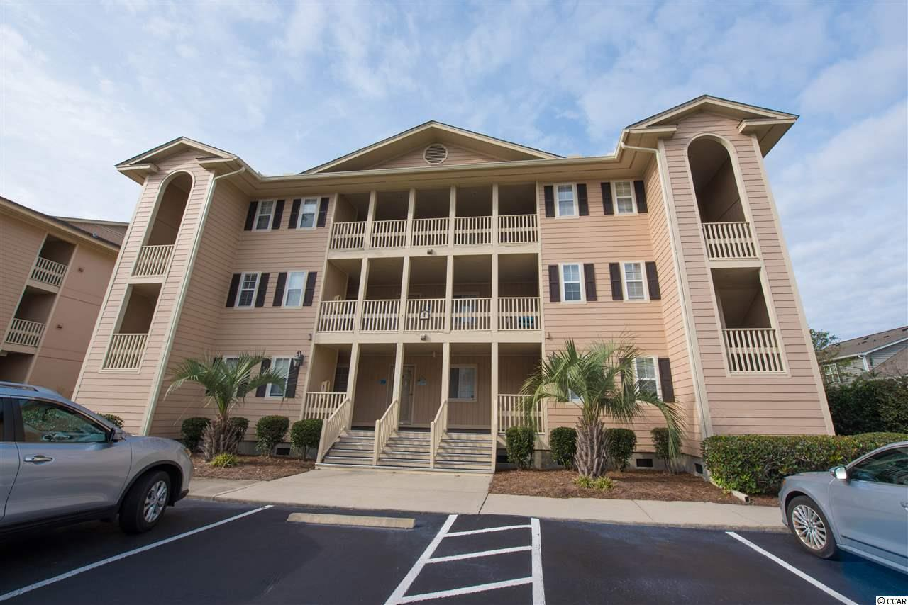 Tilghman Shores Ocean and Golf Resort is located in North Myrtle Beach,  Cherry Grove area. Only 2 blocks off the beach, this true 1 bedroom unit is not on a rental program and only used by the owners when they are in town. This unit offers hardwood floors and tile in wet areas. It comes furnished, except for a short Non-Conveyance List and personal items. Light and bright with a fully equipped kitchen and granite counter tops. View from the generously sized screened porch is of the lake that runs through the community, and can be used for outdoor entertaining. The community amenities include a large pool and hot tub, BBQ and picnic facilities, and a gazebo. Check out the reasonable HOA fees, and what is included and this makes for a great holiday / second home or can be used as an investment property for vacation rentals. All measurements and square footage are approximate and are not guaranteed Buyer is responsible for verification .