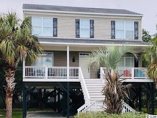 "Well maintained 5BR / 3BA raised beach house on Pawleys Island, just across the street from the beach on the north end of the Island. Great curb appeal awaits you to this ""Lowcountry Style"" home, with nice sized front porch for rocking chairs to enjoy the breezes after a long day at the beach or any of the great activities you can enjoy in the area - fishing, kayaking, paddle boarding, or out playing golf. One bedroom on main floor, and four bedrooms upstairs w/ sitting area and TV, great for the kids! Homes sleeps 10 easily, and has room for parking up to 8 vehichles...or bring your boat! Enjoy the large eat-in kitchen sharing the events of the day, or tomorrows to come. Back deck is ideal for grilling or just hanging out with friends. Why wait for creating those memories you will share for a lifetime? Start your dream vacations now in this home located on the ""Arrogantly Shabby"" Pawleys Island.  Already established rental history. Home is being sold furnished with a few personal items that owners would like for keepsakes. Make sure you see this one, priced to go quickly. All measurements are approx and buyers responsibility to verify."