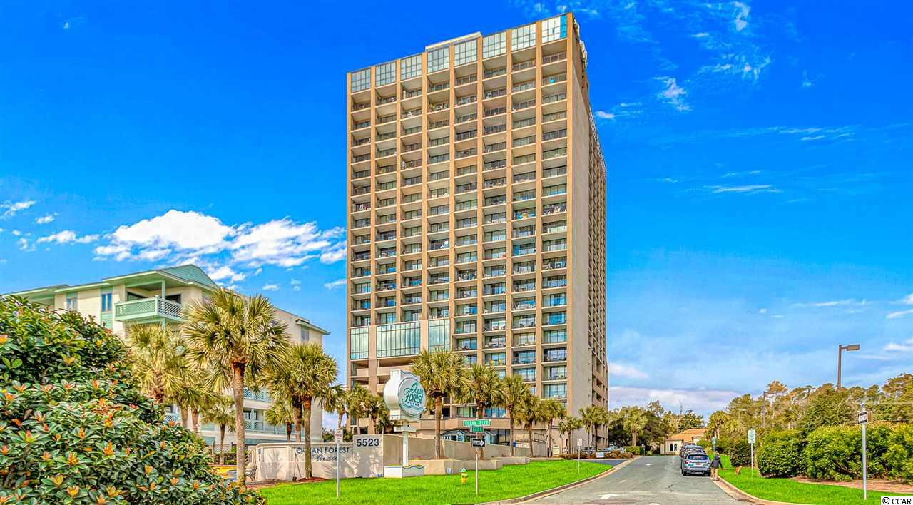 Beautiful 1 bedroom ocean front condo in very desirable section of Myrtle Beach.  This building includes an indoor pool, outdoor pool, sauna, lounge areas, covered parking garage and more. You will love the ocean view from your large sized deck.  Call to see this one today!