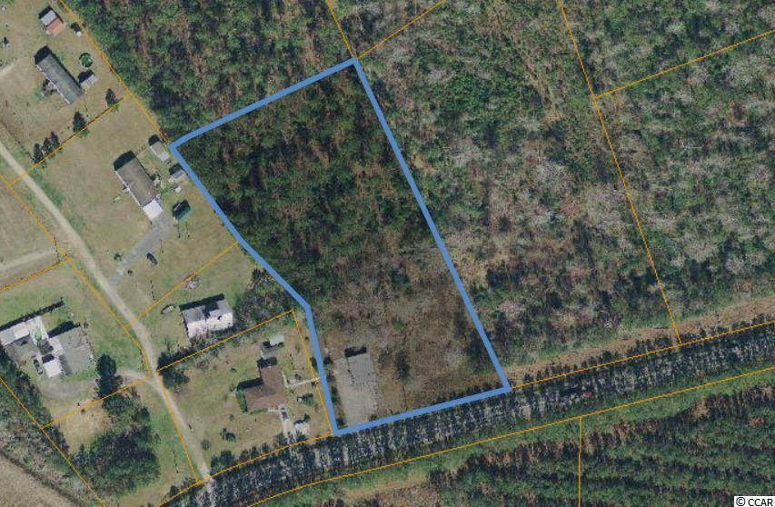 2.86 Acres located on Cultra Road zoned CFA. 1200 sq ft metal building.