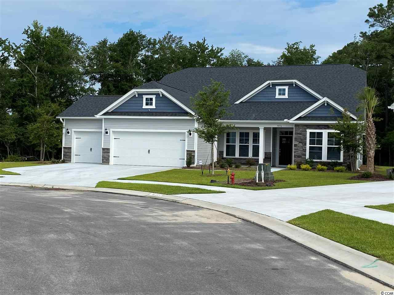 Park Pointe is Realstar Home's new Natural Gas Community.  Located across from the North Myrtle Beach Park and Sports Complex and just off the Robert Edge Parkway, Park Pointe is convenient to everything the north end of the Grand Strand has to offer. Surrounded by nature preserve, Park Pointe offers a tranquil, inviting backdrop for your new home.  Park Pointe allows easy access to major highways like Hwy 31, Hwy 90, Hwy 17 and N. Myrtle Beach's Main Street. You can live minutes to beautiful beaches, fabulous shopping, championship golf, great restaurants, amazing night-life, first-class medical facilities and other local attractions...in other words, it's everything you're looking for in a Coastal Carolina location.  With 13 open and uniquely designed plans ranging from 1360 heated sq. ft. to over 3000 heated sq. ft., these well-appointed homes offer a tremendous selection of options.  Next door you'll find the North Myrtle Beach Park and Sports Complex.  The park is equipped with a wide selection of amenities that will add value, fun, and comfort such as concessions, picnic shelters, playgrounds, an amphitheater, walking/bike trails, dog parks, a 25 acre lake for water activities, a 10 acre meadow and much more.  Enjoy everything that North Myrtle Beach and Little River has to offer when you make Park Pointe your place to make memories happen.