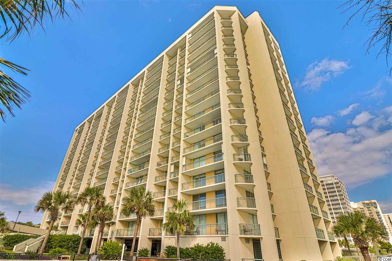 Enjoy beach life at its best with this 3 bedroom, 3 full bathroom condo with balconies from every room! Located in the prestigious Kingston Plantation, this condo has everything you could want in a beach home and has excellent qualities for a rental. All new granite in kitchen and bathrooms! The community offers 24 hour gated security, a top of the line spa and fitness center, tennis courts, reflection ponds, swimming pools and more. Book your showing today!