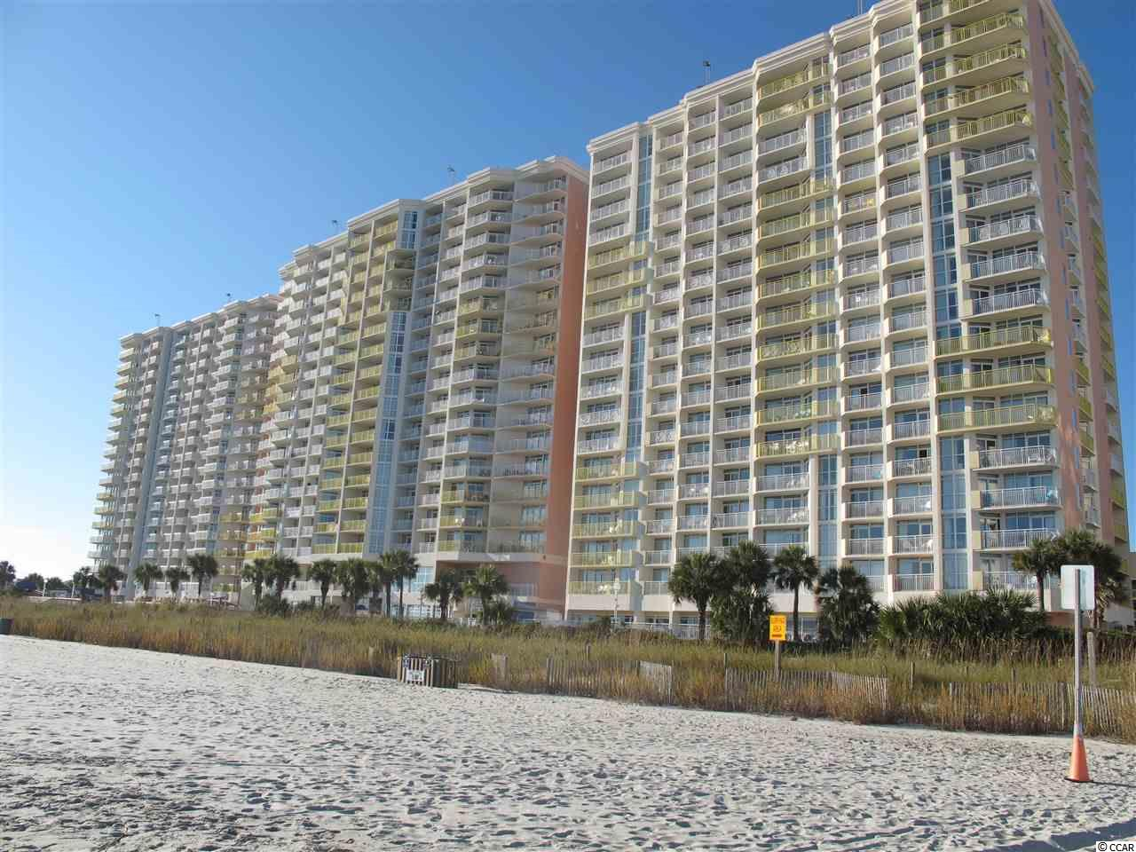 Priced to attract the buyer searching for the ideal oceanfront weekend getaway.  Unit sleeps 6 as it also has a murphy bed. Current owner does not rent. Ask your agent to share this property with you. The condominium unit is lovingly maintained. With reasonable monthly HOA fees, the owner has NO UTILITY bills. Fabulous ocean front views at a wonderful mid-height in the building. The amenities at BayWatch are astounding. Enjoy two restaurants, fitness center, pools so numerous you will be amazed. Lazy rivers, indoor pools, kiddie pools, hot tubs, gift shop, parking garage, etc. For the investor who may choose to engage rentals through the condotel front desk, this is one of the few facilities catering to conventions with wonderful conference rooms on the second floor of the middle tower. Catering to meetings and even wedding parties the front desk will be grateful to assist with your rental desires. These conference rooms also front along the ocean.