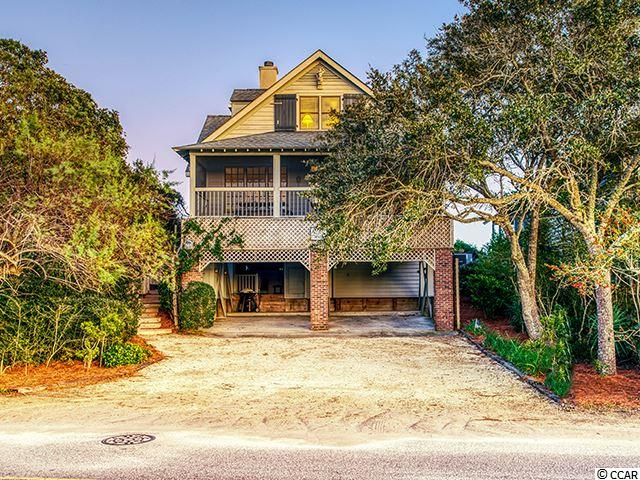 """""""Saints Alive"""" at 568 Myrtle Avenue embodies the historic district of Pawleys Island in a modern built home (1993). This discreet location on a prominent dune ridge on the island inspires both creek and beach front entertaining. You come here to relax but enjoy the pursuit of creating memories in the surrounding lowcountry environment . Both front and back porches  and their views are the perfect haven for a rest before the next activity. Six bedrooms, four and one half bath, an open living room, and back den offers ample space for large families. Lovely den on the creek side with a fireplace. Generations have enjoyed Pawleys Island and Saints Alive awaits the family that will continue the legacy."""