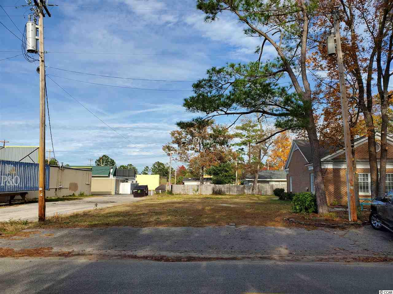 """Awesome Opportunity!!  Don't miss your chance to own a piece of Surfside Beach, """"The Family Beach""""!!  Zoned commercial, this lot will allow much more than a typical residential lot in Surfside.  Located east of Hwy 17 business, but less than 100 yards from the highway!  Don't miss this opportunity!"""
