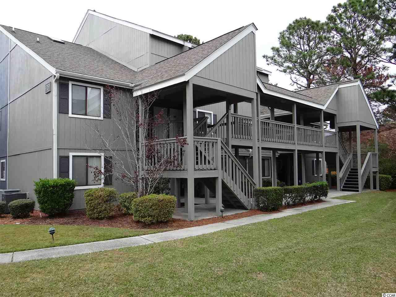 2 bedroom 2 bath spiral staircase condo in Golf Colony Resort within Deerfield Plantation of Surfside Beach, SC. Large unit overlooking the pool in a centrally located area of the Grand Strand. This is the perfect condo for the person that wants to make his home exactly the way he wants. Have your real estate agent show you this potentially wonderful unit today.