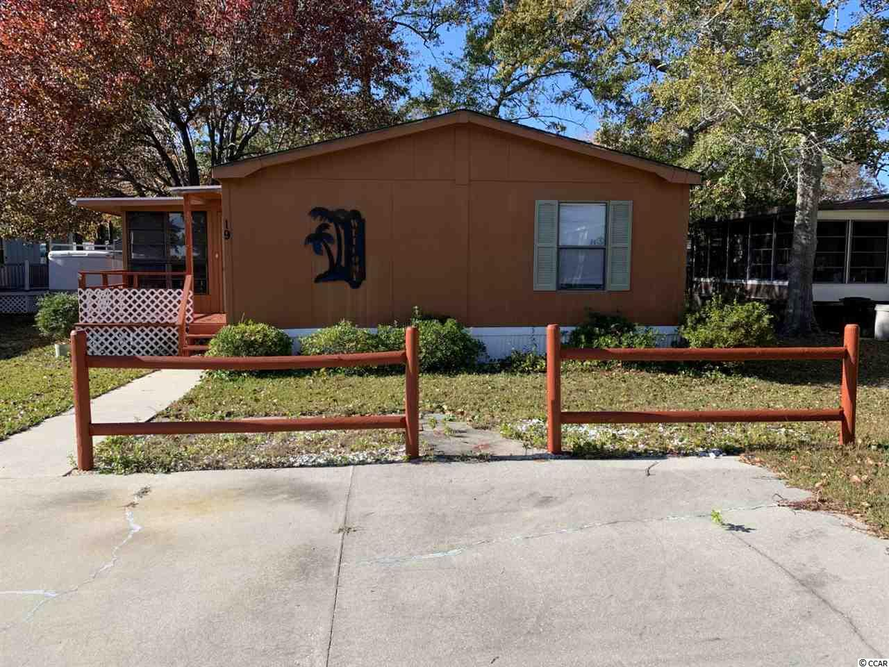 Welcome to this beautiful 3 br 2 ba, split bedroom floor plan, double wide manufactured home that's been kept in great condition. This home features major upgrades such as a brand new roof installed October 2019 as well as an upgraded kitchen that boasts updated cabinets, counter tops, sink & faucets, new laminate flooring all throughout the home, an updated guest bathroom that showcases new vanities, lighting, sink, and toilet and ceramic shower. Captains Cove is a 55 and older community that allows has an pool thats serviced by the HOA and also a clubhouse that's perfect for holding community events or gatherings. This community allows owner golf carts and motorcycles! This home is conveniently located close to the best dining, shopping and entertainment Murrells Inlet has to offer. A fantastic opportunity for a vacation or retirement home near the beach!